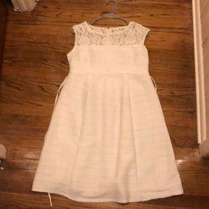 White Motherhood Maternity Dress Worn once Sz M